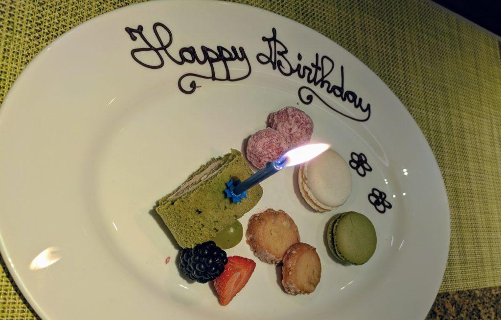 Happy Birthday verrassing Sazanka voor verjaardag